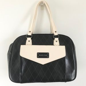Mary Kay Small Duffel Bag Black and White
